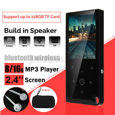 2.4'' Portable Touch Screen bluetooth MP3 MP4 Music Player HIFI Video FM  US