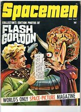 WoW! Spacemen #4 Flash Gordon! Earth vs. The Flying Saucers! Screen Thrills!