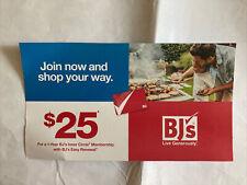 BJ's membership $30 off