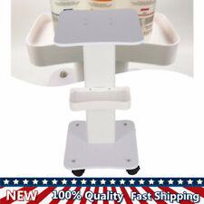 Pedestal Rolling Trolley Cart Salon Spa Beauty Storage Equipment Aluminum Stand