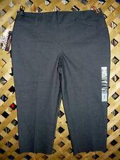 Dana Buchman Dark Indigo Blue Stretch Cotton Capri / Cropped Jeans Size 16 NWT
