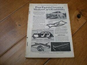 Popular Mechanics (June 1936) Four Factors Govern a Modern Cars