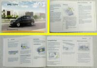 Opel Zafira B 1,6 1,7 1,8 1,9 2,0l Betriebsanleitung Bedienungsanleitung  1/2009