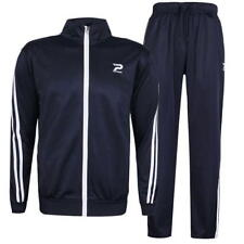 Patrick Poly Tracksuit Top Navy Medium Td082 JJ 01