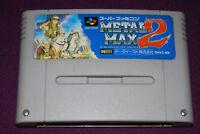 METAL MAX 2 - Crea-Tech/Data East - Jeu RPG Super Famicom Nintendo SNES JAP