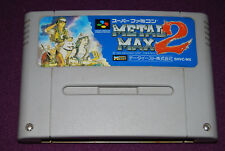 METAL MAX 2 - Crea-Tech/Data East - Jeu RPG Super Famicom Nintendo SNES JAP