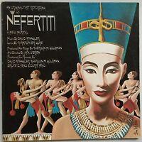 ORIGINAL CAST RECORDING Nefertiti 1978 g/fold U.S. THT EX/EX