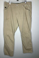 KUHL Mens Radikl Tan Lightweight Outdoor Hiking Nylon Cargo Pants 38 x 32