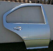 99-05 VW Jetta Golf Right Passenger Side Rear Door Shell Reflex Silver OEM