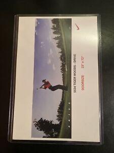 RARE Tiger Woods Costcos Mini promo Poster MINT Doorsize PSA Ready NIKE