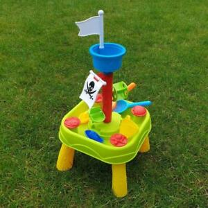 Klein Kinder Wassertisch Spieltisch Sandkasten Strand Sandtisch Garten Spielzeug