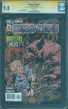 Swamp Thing 5 CGC 2XSS 9.8 Snyder Paquette 3/2012 New Movie