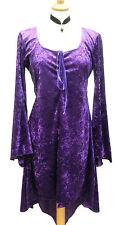 Waterfall Stretchy Velvet Top Dress/GOTH/PAGAN/FAE/LARP/RowansCloset