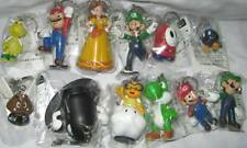 Super Mario Bros Yoshi Goomba Bob-omb Luigi Keychain Figure Anime Game MLKY9393
