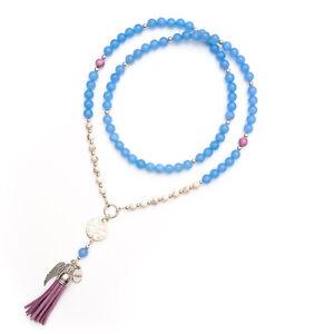 Gelato Blueberry Bead Necklace