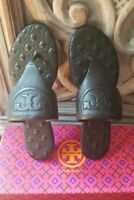 Tory Burch FLEMING FLAT THONG Leather Black - Size 6 (New in Box)
