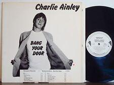 CHARLIE AINLEY Bang Your Door EXC NEMPEROR PROMO-WLP Pete Wingfield-Tony Ashton
