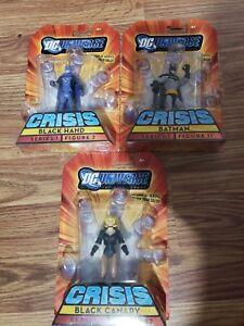 DC universe infinite heroes action figure lot Batman, Black Hand ,Black Canary.