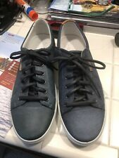 NEW W/ Defect Ecco Soft 7 Navy Leather Lace Up Sneaker Men's Sz 43 M