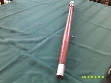 "New ListingVtg. Chris-Craft Mahogany Stern Pole w/Glass Light-32"" long-As Found"