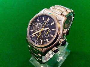 EBEL 1911 BTR CHRONOGRAPH - TOTALLY AS UNWORN CONDITION - SUPERB QUALITY WATCH