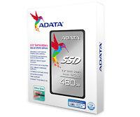 """ADATA SP550 Premier 480GB Ultra Slim Solid State Drive 2.5"""" 7-9mm SATA 6gb/s SSD"""