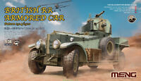 Meng Model VS-010 1/35 British RR Armored Car  1914/1920 Pattern Super New