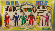 Power Rangers Time Force TF Fighter Pack Gift Set Quantum Yellow Pink Red Green