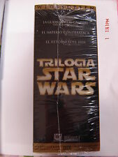 STAR WARS Trilogy Original VHS en box
