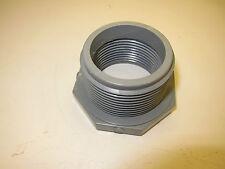"New QTY 20 Eslon Reducer Bushing Threaded PVC 1-1/2""M to 1-1/4""F F437 SCH 80"