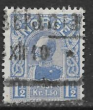 Norway stamps 1909 YV 67  CANC  VF