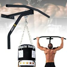 GYM FITNESS BAR CHIN UP PULL UPS STRENGTH SITUPS DIPS EXERCISE WORKOUT DOOR BARS