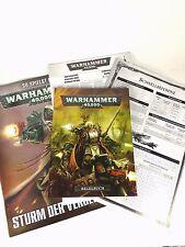 Regelwerk Warhammer 40000 Sturm der Vergeltung (6. Edition) Taschenbuchformat