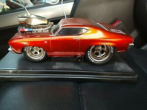Muscle Machines 5th Anniversary '69 Chevy 1:18 HARD TO FIND VERY NICE CAR  used