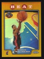 2008-09 Topps Chrome Mario Chalmers GOLD Refractor #6/50