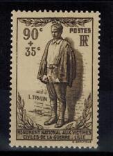 (a9) timbre France n° 420 neuf** année 1939