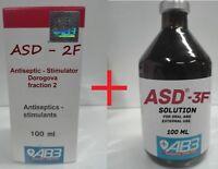 ASD - 2 + ASD - 3 fraction. Antiseptic Dorogov's Stimulator. Moscow