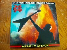 MSG MICHAEL SCHENKER GROUP ASSAULT SELF TITLED 1981 LP  EXCELLENT VINYL