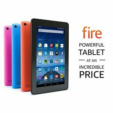 "Amazon Kindle Fire 7 (5th Generation) 1.3Ghz Tablet SV98LN 8GB Wi-Fi 7"" Black"