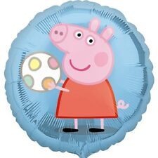 "PEPPA PIG PARTY SUPPLIES 18"" PEPPA AND BALL STREET TREATS FOIL BALLOON"