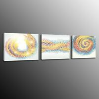 3 Panels Home Decor Canvas Prints Painting Picture Wall Art Abstract Poster