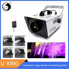 900W Fog Machine Smoke Wireless Remote Party DJ Wedding Disco Fogger Show Stage
