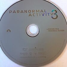 Paranormal Activity 3 (DVD) NO CASE NO ART EXCELLENT CONDITION SHIPS NEXT DAY