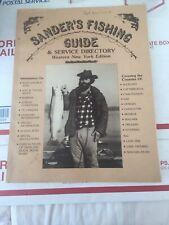 1985 Sanders Fishing Guide Western New York Edition