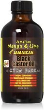 Jamaican Mango - Lime Xtra Dark Jamaican Black Castor Oil 4 oz