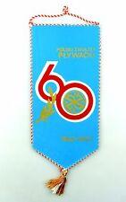 #e6388 Original Old Pennant 60 years Polski zwiazek plywacki 1922-1982