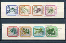 C24836 Flowers Plants 2 Booklets FDC Cancel Portugal Açores