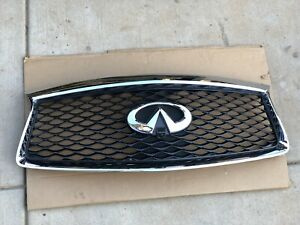 2015-2020 Infiniti JX35/QX60 Front Upper Grille WITH CAMERA OEM 62310-9NC0B NICE