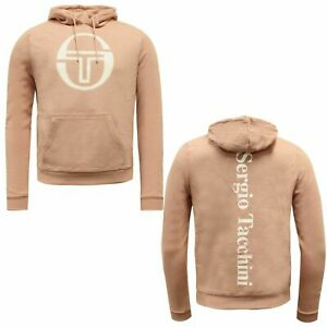 Sergio Tacchini Martin Hoodie Pullover Mens Sweatshirt Jumper 38073 710 A52D