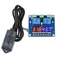 Termostato XH-M452 Termometro control de humedad de temperatura Higrometro E1I2